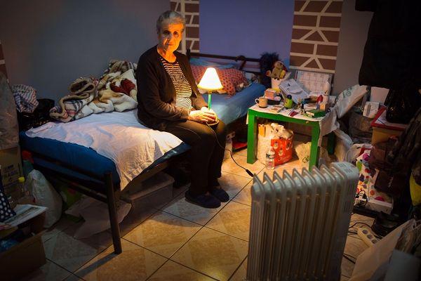 Baya, 69 ans, délogée depuis 16 mois