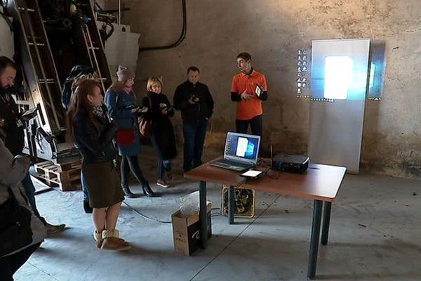 Au Mas numérique de Montpellier, on allie numérique et techniques viticoles. 30 novembre 2017