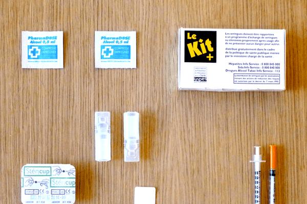 Le CAARUD propose du matériel de réduction de risque pour les consommateurs de produits psychoactifs