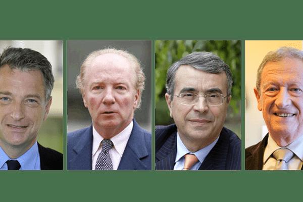 Hervé Gaymard, Brice Hortefeux, Jean-Jack Queyranne et René Souchon