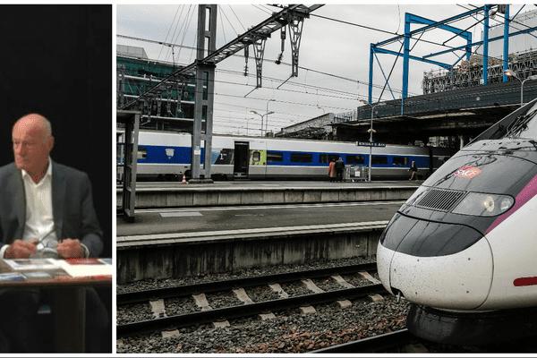 A quelques jours de son arrivée en gare, les deux hommes plaident déjà pour un avenir du TGV au delà de la capitale régionale.