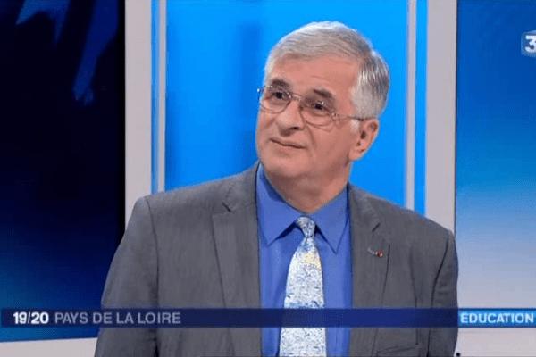 William Marois est recteur de l'académie de Nantes depuis le 3 janvier 2013.