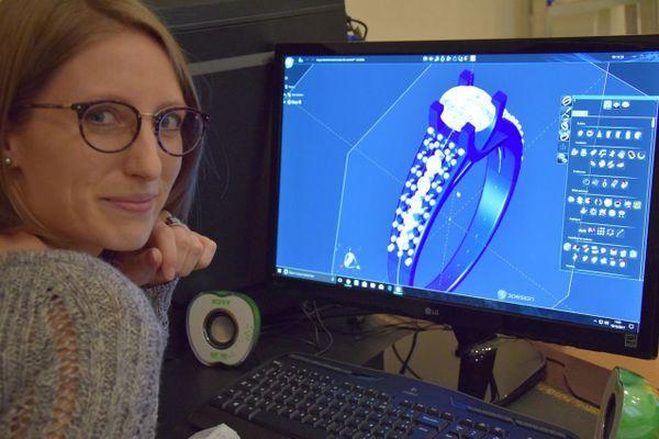 Julia Kirmann travaille désormais avec la 3D.