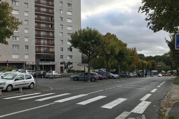 L'accident s'est produit Boulevard Barthou, le jeudi 10 octobre à Reims.