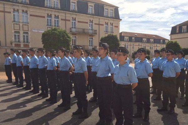 Les 190 nouveaux gendarmes adjoints de réserves ont fini leur formation à Montluçon après douze jours de formation.