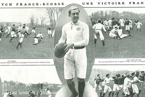 Marcel Communeau, un beauvaisien parmi les plus grands rugbymen de l'histoire.