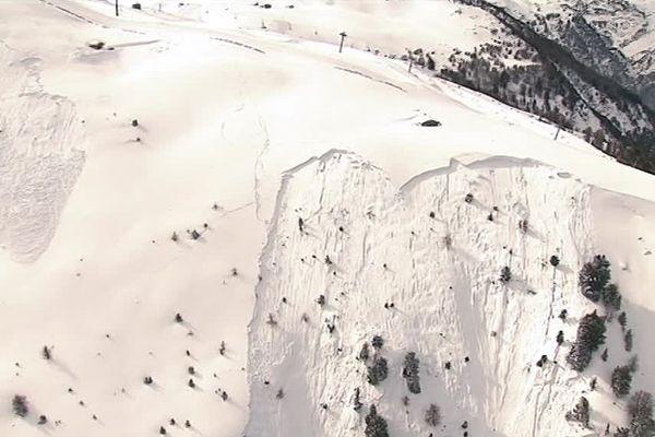 Une coulée à Valfréjus en Savoie a emporté 3 personnes