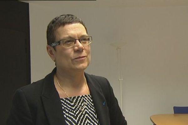 Christine Bouquin, candidate dvd à la présidence du conseil départemental du Doubs