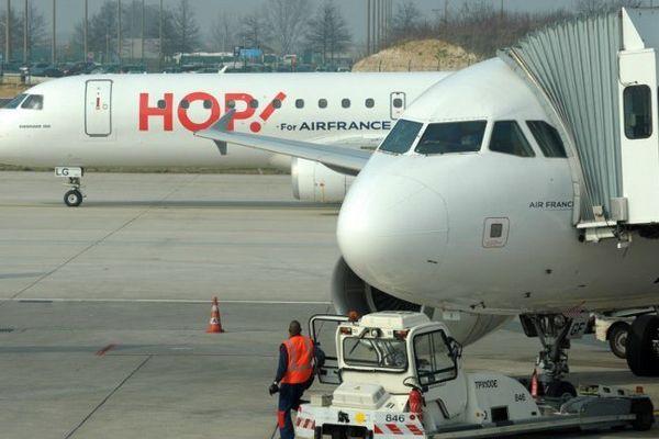 ILLUSTRATION - HOP! est une compagnie aérienne filiale d'Air France