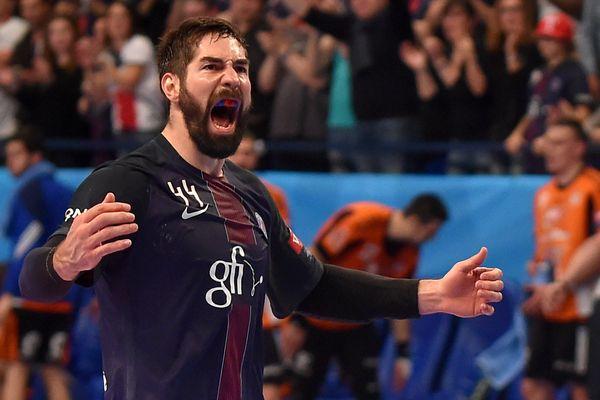 Nikola Karabatic, du PSG Handball, le 29 avril dernier.