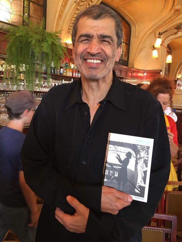Le livre du lauréat présenté par Daniel Picouly, président du jury 2017, à Nancy, mardi 29 août 2017.