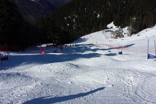Piste de ski de bosses