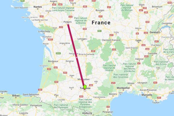 Disparue depuis trois semaines, la collégienne de 12 ans retrouvée à Poitiers — Haute-Garonne