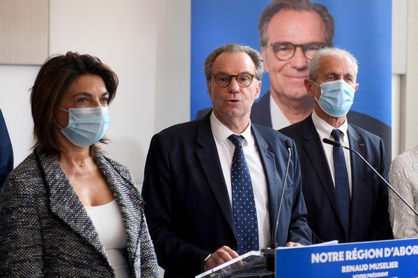 """Renaud Muselier se """"félicite"""" de cette alliance entre sa liste et la majorité présidentielle."""