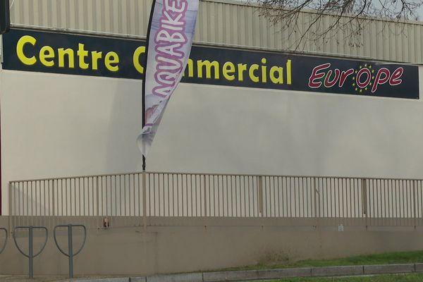 Le centre commercial de l'Europe à Poitiers