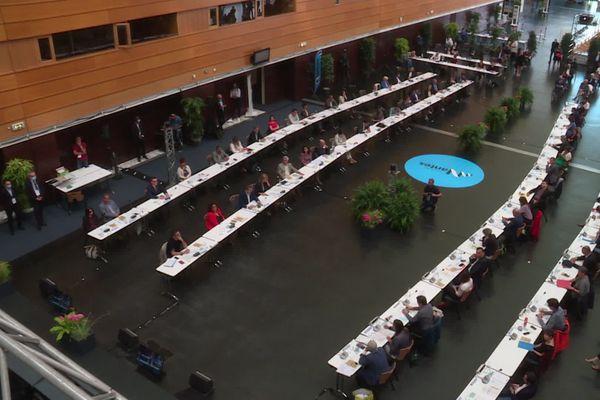 Le nouveau conseil municipal de Nantes s'est réuni ce vendredi 3 juillet.