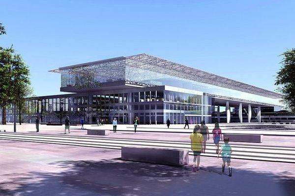 Le projet de parvis de la nouvelle gare de Nantes