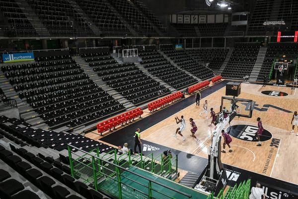Confinement oblige, le match de basket Asvel - Orléans à Villeurbanne s'est déroulé à huis clos le 8 novembre dernier.