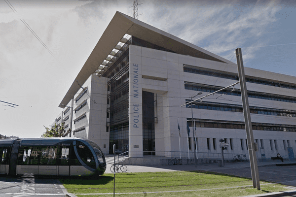 Le commissariat central de la police nationale à Bordeaux. Photo d'illustration.