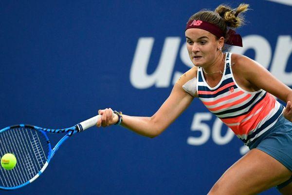 Clara Burel s'est incliné en deux manches lors de la finale de l'US Open juniors