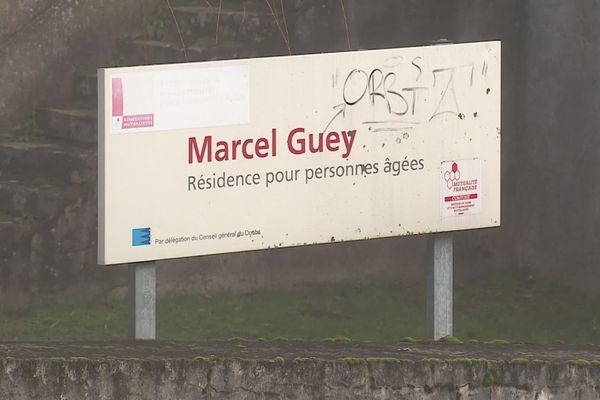 La résidence pour personnes âgées Marcel Guey aux Auxons.