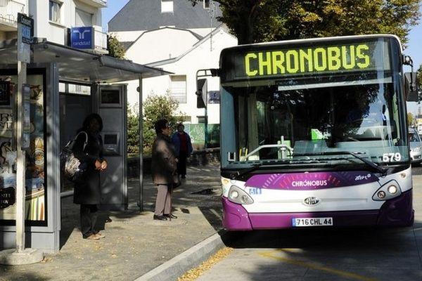 Avec vous lundi 1er octobre dans les nouveaux Chronobus de l'agglomération nantaise
