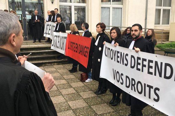Rentrée sous tension au Tribunal de Grande Instance de Thionville/janvier 2018