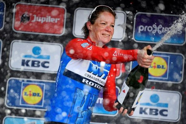 Kirsten Wild victorieuse du Gand-Wevelgem féminin.