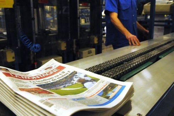 En 2008, la Montagne avait pris le virage du tabloïd. Première sortie du quotidien dans le nouveau format.