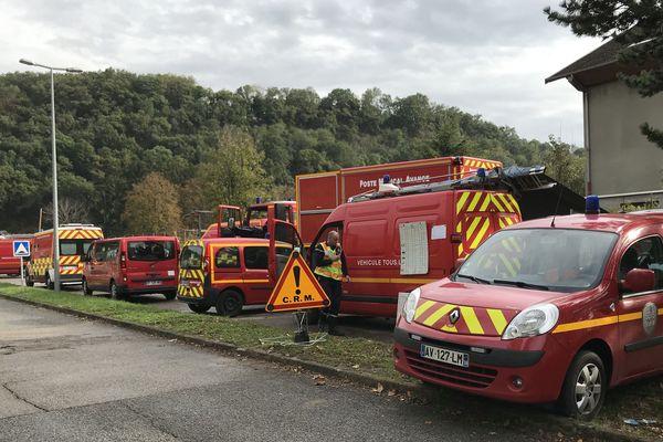 75 pompiers ont été mobilisés sur l'incendie de la maison d'arrêt de Varces.