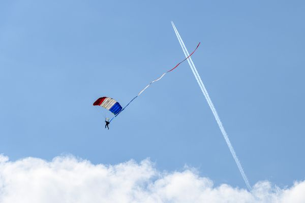 L'équipe de parachutisme de l'armée