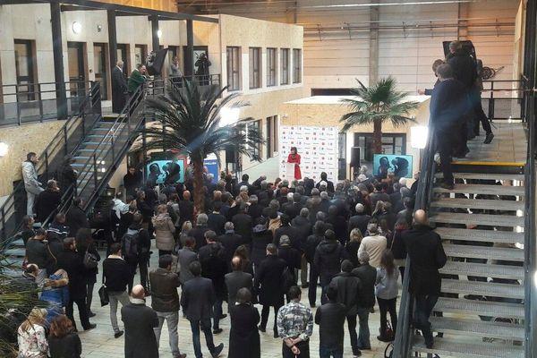 Inauguration studios Vendargues