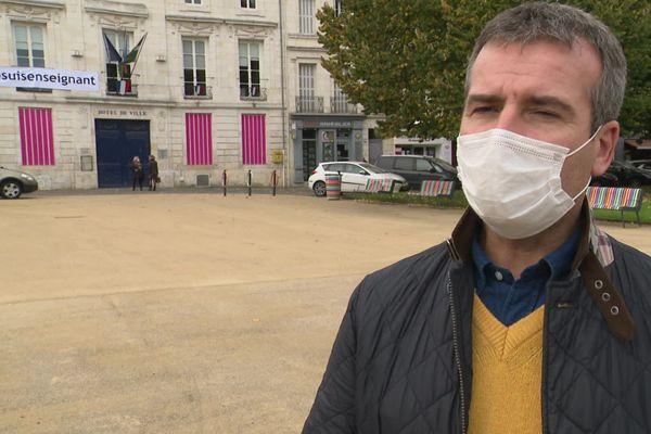 Hervé Blanché, le maire de Rochefort (Charente-Maritime).