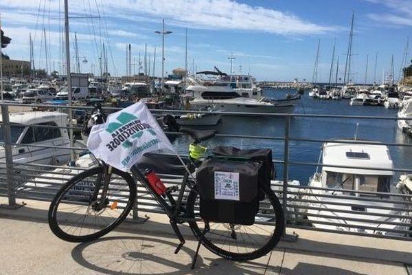Le vélo de l'exploit parcourra 1300 km
