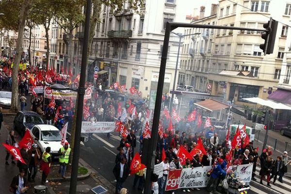 Manifestation Lyon - 9 octobre 2012