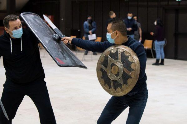 Début mars, des figurants avaient été recrutés à la Maison du Peuple de Clerrmont-Ferrand pour jouer dans le film de Guillaume Canet.