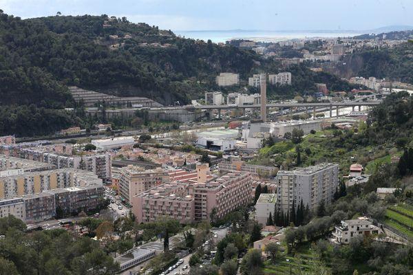 Quartier de l'Ariane, à l'est de Nice (Archives)