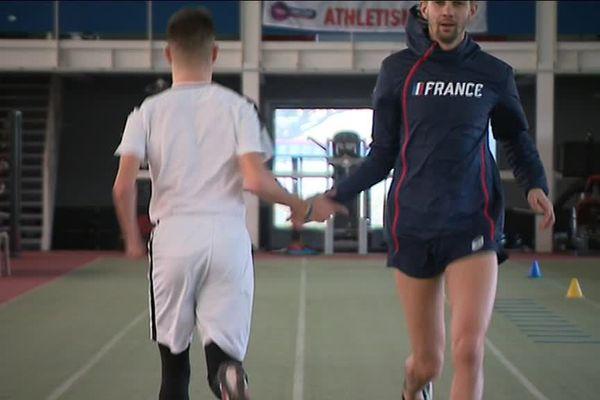 Les deux athlètes se préparent pour les Championnats du monde.