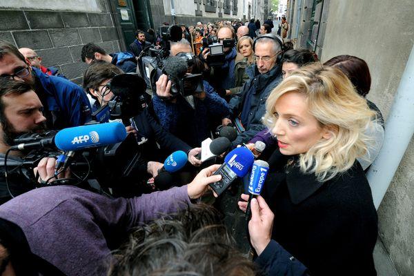 Me Grimaud, avocate de l'association Innocence en Danger dans le procès de l'affaire Fiona devant les assises du Puy-de-Dôme, a indiqué devant la cour, le 16 novembre, au 3e jour des débats, avoir reçu des indications sur l'endroit où le corps de la fillette pourrait se trouver.