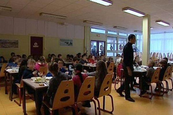 Une cantine scolaire du Havre (archive)