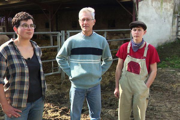Issa, Jean-Paul et Maëva, la reprise réussie d'une exploitation agricole