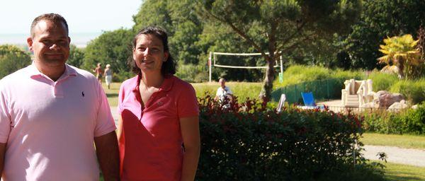 Gaëlle et Sylvain Hees, qui ont organisé cet élan de solidarité