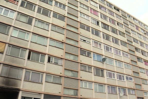 L'immeuble Sorano à Saint-Etienne-du-Rouvray