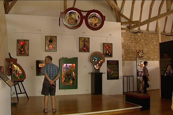 Le Musée du Vitrail à Curzay-sur-Vonne, dans la Vienne