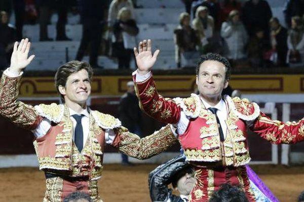 El Juli et Ferrera : le double triomphe de ce samedi à Olivenza.