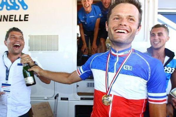 Steven Tronet a été sacré Champion de France hier en Vendée