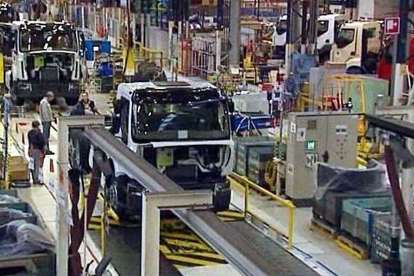 Le site de fabrication de Blainville sur Orne fabriquera bientôt la gamme des nouveaux camion de la gamme Premium.