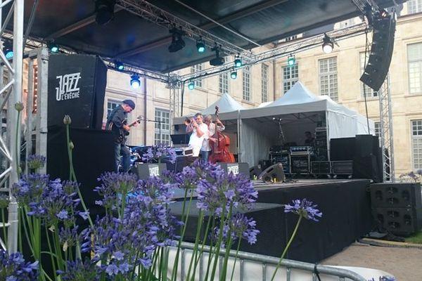 Paolo Fresu Devil Quartet au Jazz à l'Evêché, le 23 juin 2016, à Orléans.