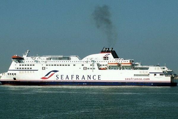Le Berlioz, bateau de Seafrance (juin 2006)