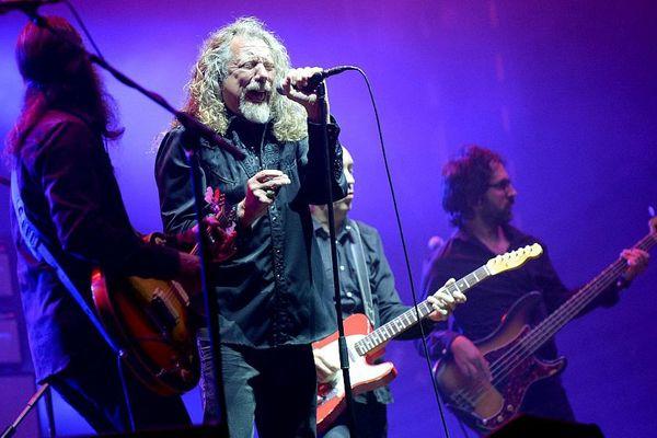 Robert Plant lors d'un concert en 2015 (archives)